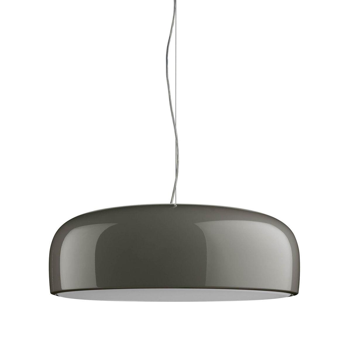 Smithfield S Eco Pendant Lamp ø60cm 2G11 3x24w Grey Mud