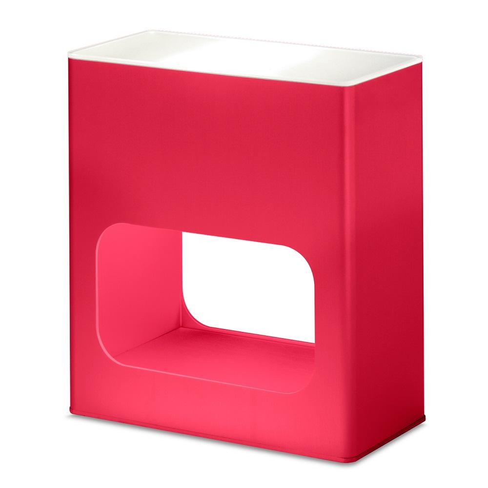 Note Table Lamp Halogen 60w Aluminium Red