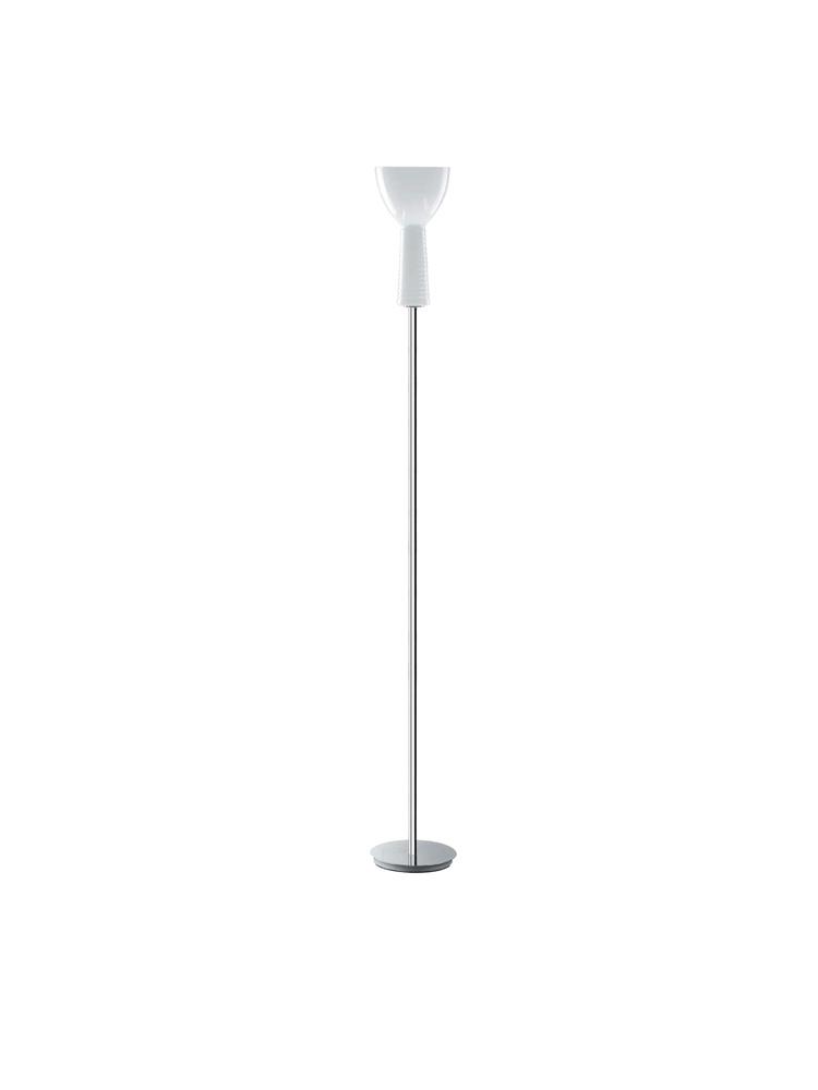 Kone lámpara of Floor Lamp E14/60w Glass white