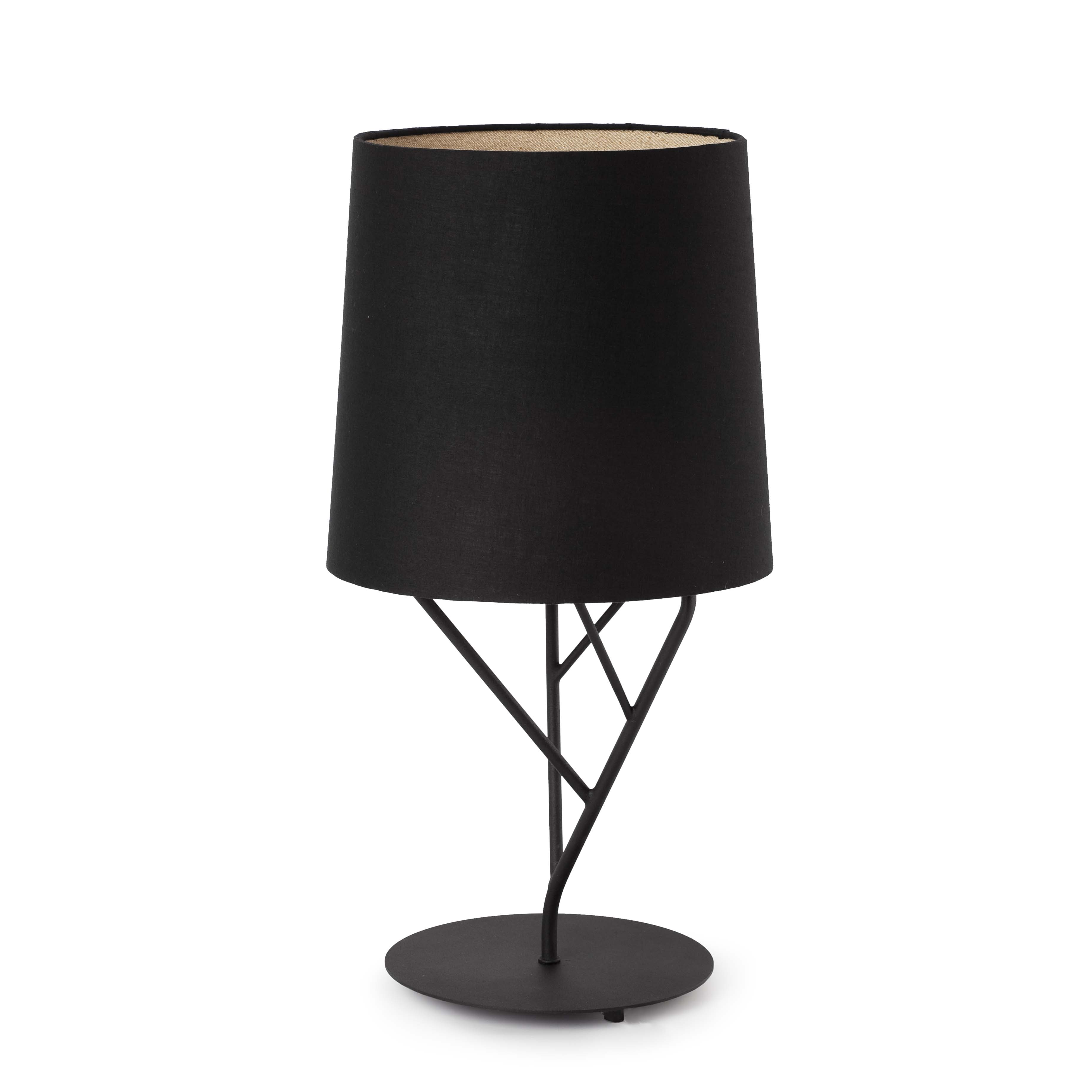Tree Table Lamp 1L E27 60w Black