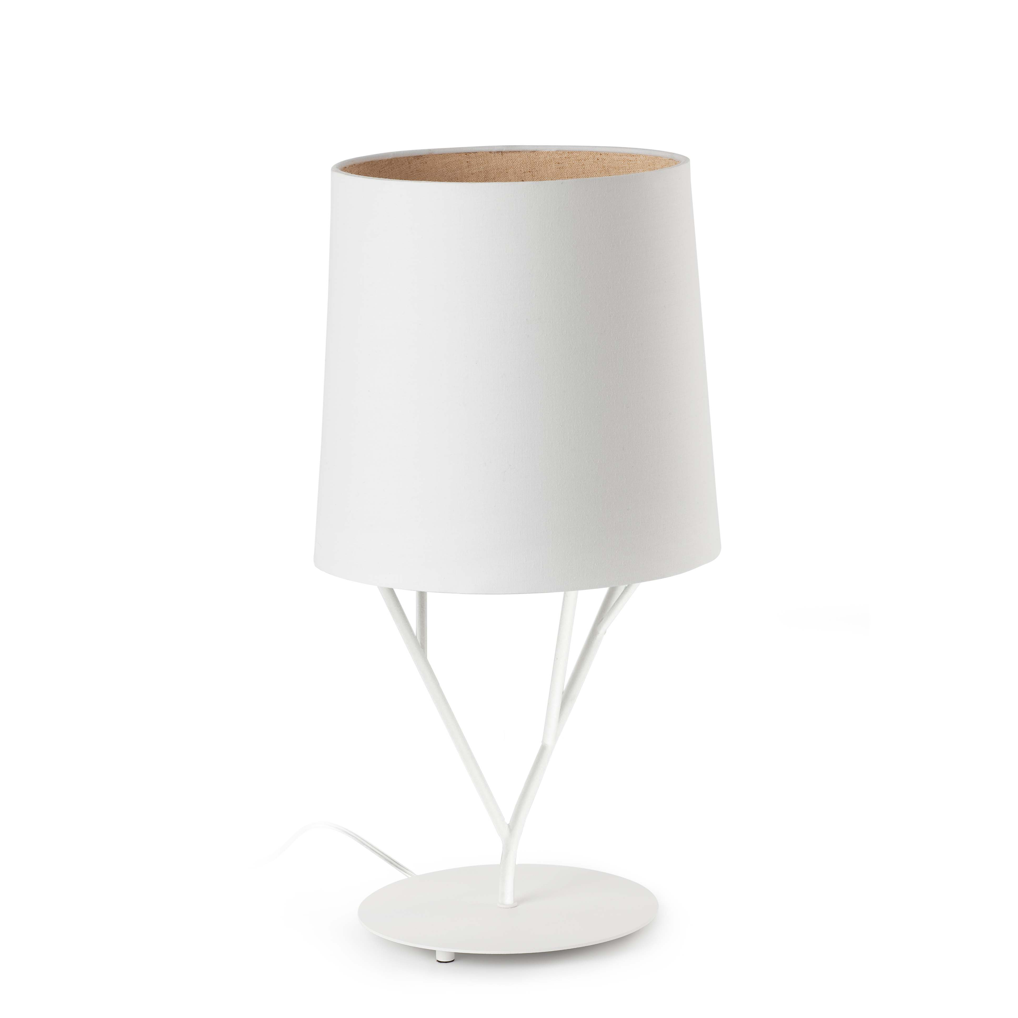 Tree Table Lamp 1L E27 60w white