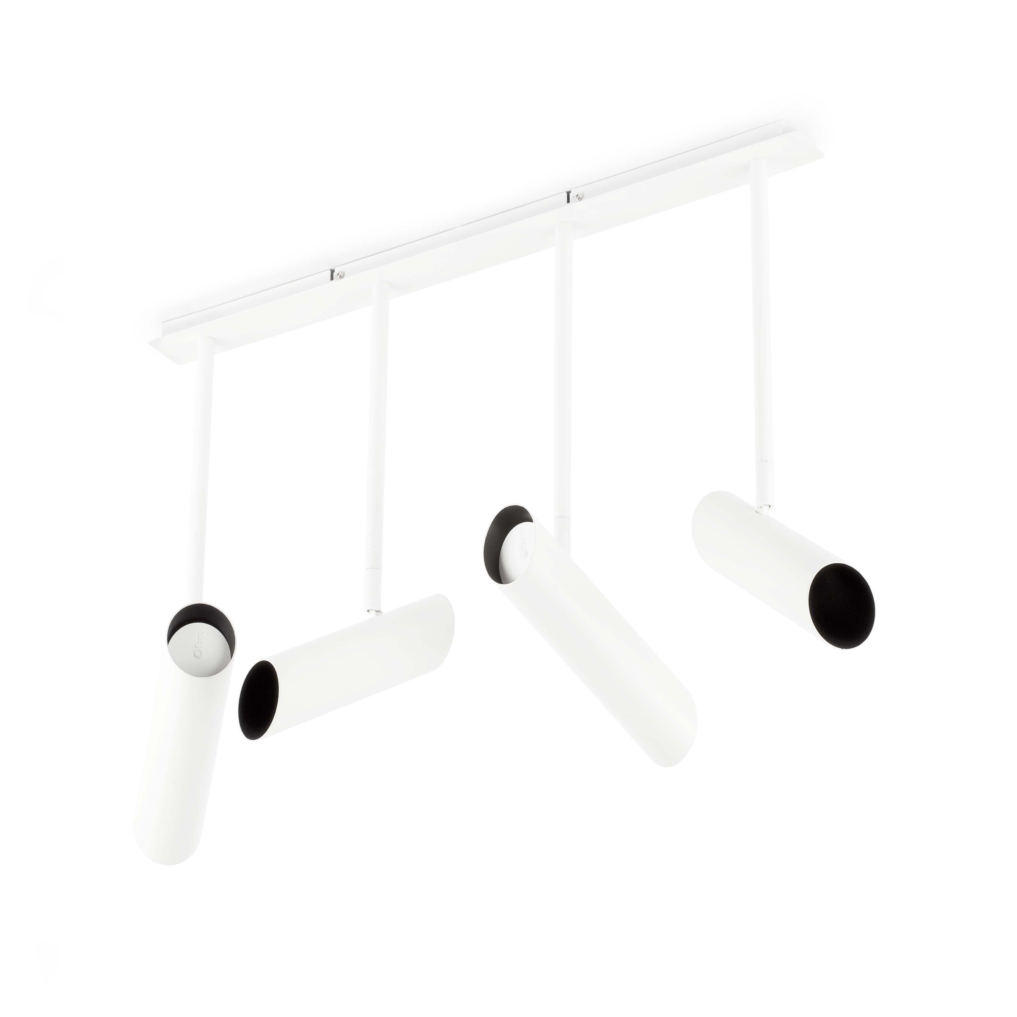 Link Pendant Lamp linear GU10 4x11w White