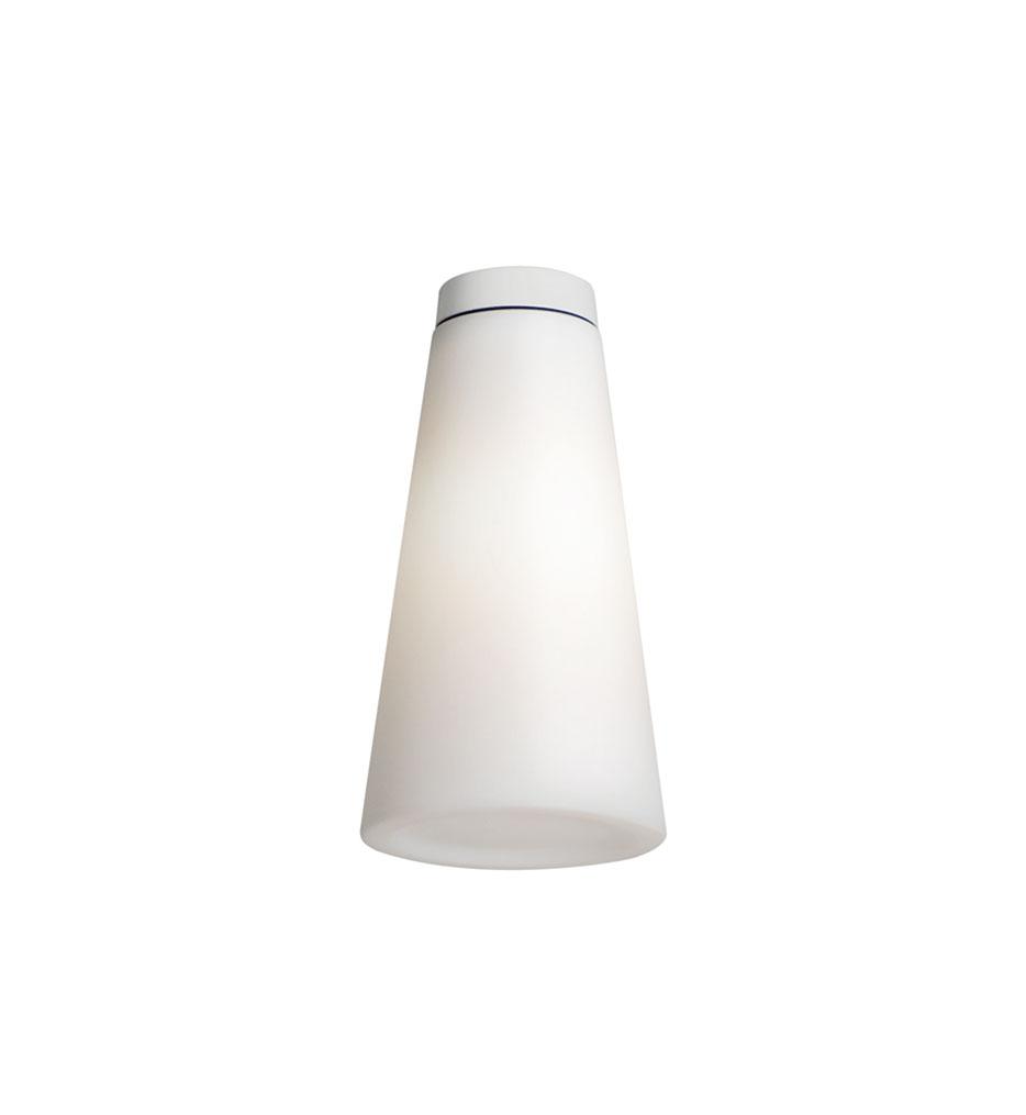 Sasha 3 ceiling lamp Outdoor IP66 38cm 1x18w E27 White