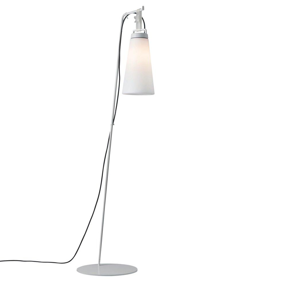 Sasha 4 lámpara of Floor Lamp Outdoor IP66 174cm 1x18w E27 White