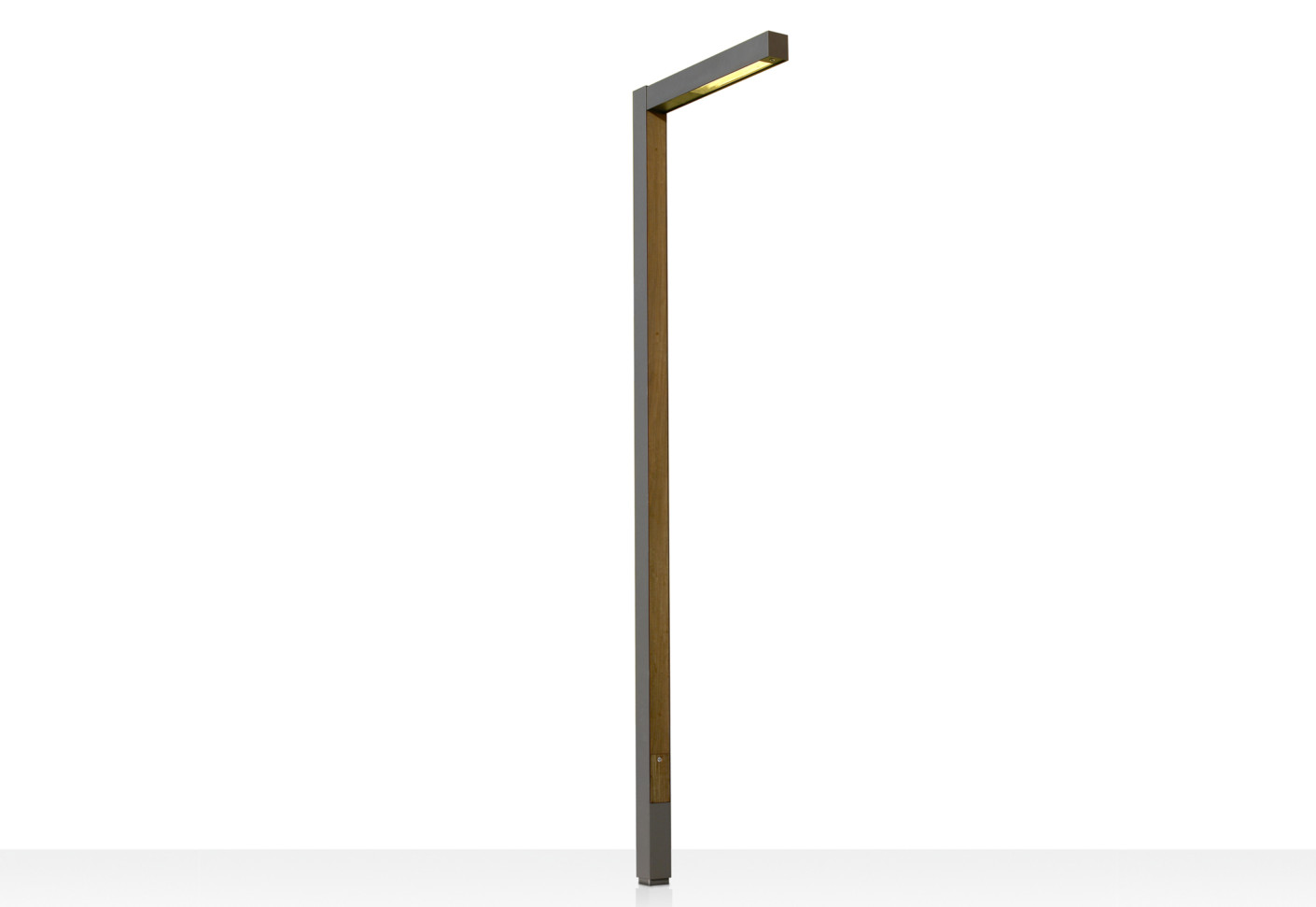 Zenete 400 1 Lamp post 2x2G11 80w metal and wood