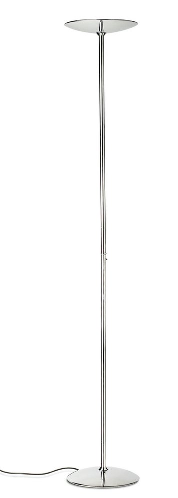 Gregal lámpara of Floor Lamp Halogen Niquel