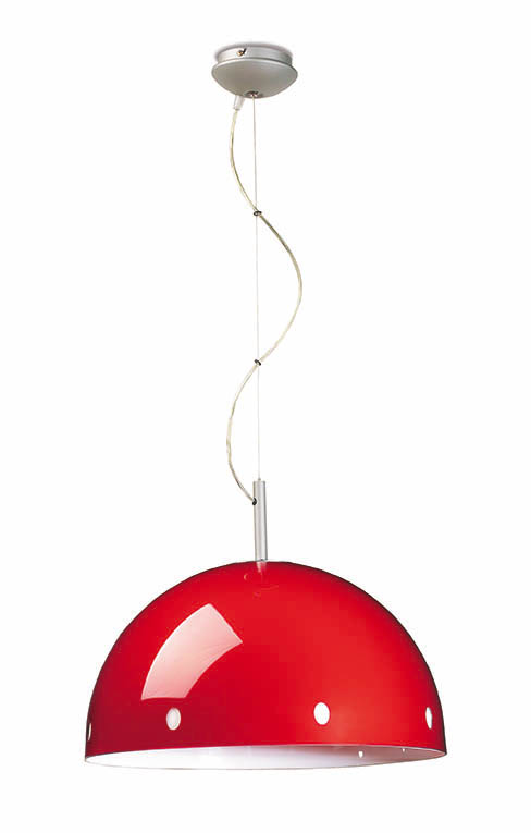 Retro Pendant Lamp ø34cm E27 1x60w orange