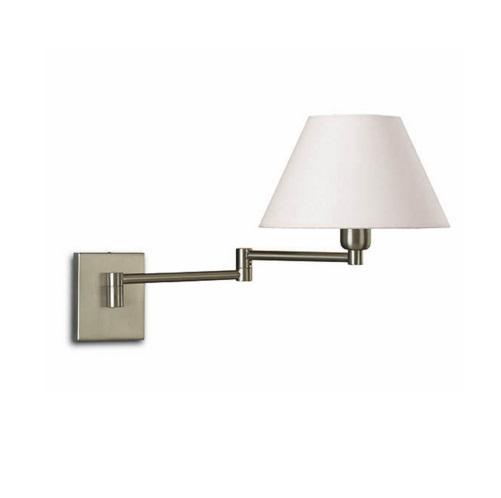 Americana Wall Lamp E27 60W Nickel matte