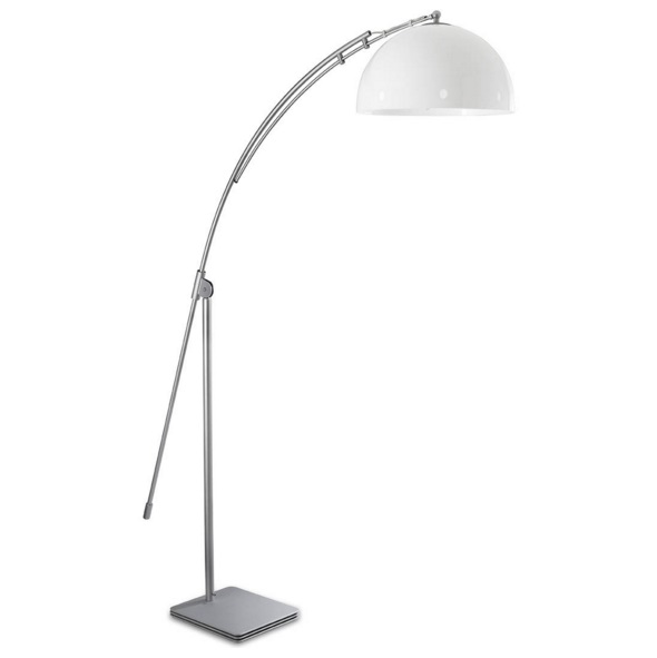 Retro lamp of Floor Lamp niquel mate