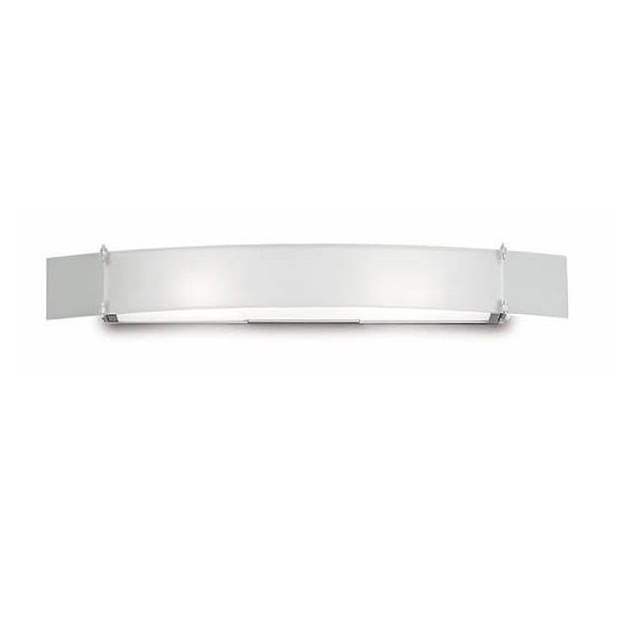 Xaruc Wall Lamp Halogen 59cm 100 W Glass Nickel