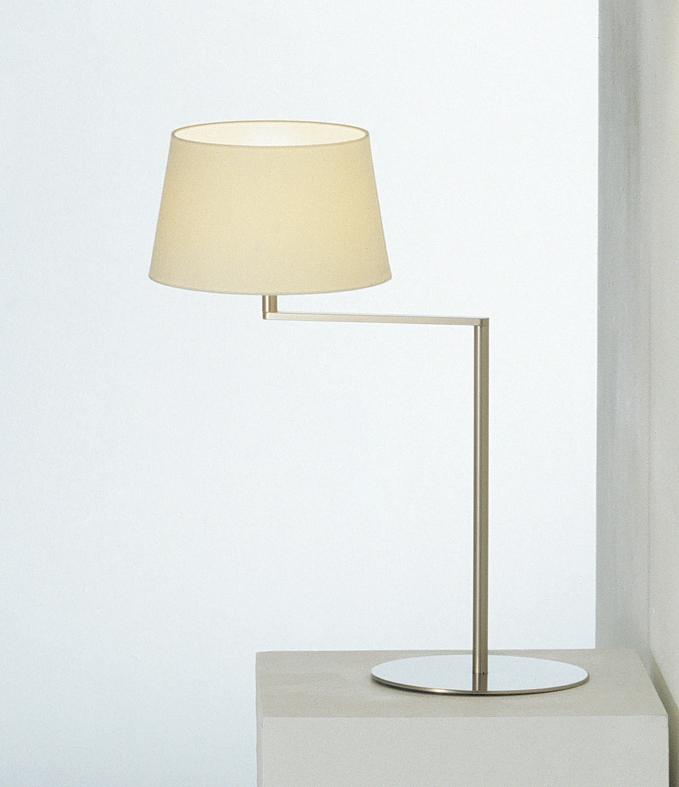 Americana (Struttura) Lampada da tavolo E27 1x11w Nichel Satin