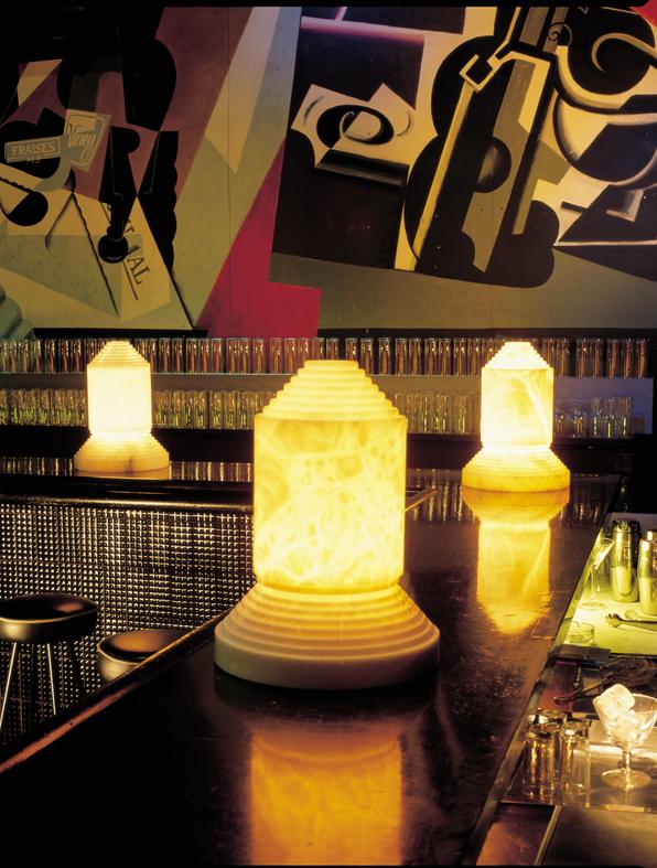 Babel Lampada da tavolo di Alabastro
