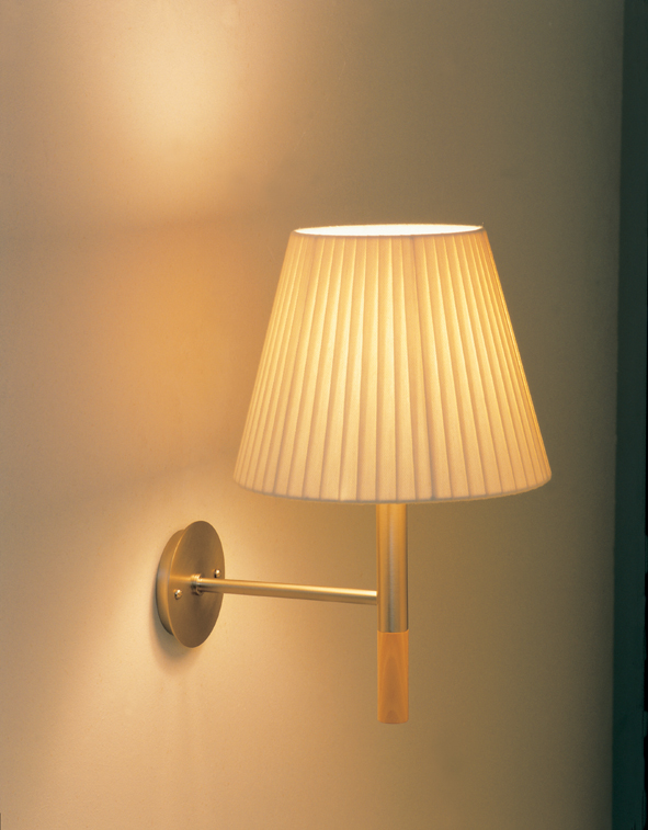 BC2 Wall Lamp fixed Nickel Satin
