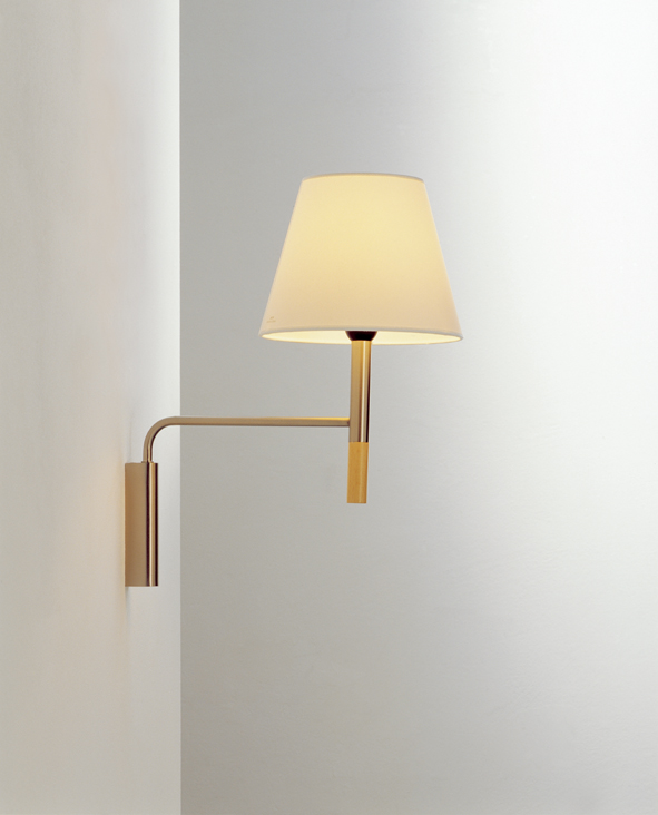 BC3 Wall Lamp movil with Stand/embellecedor of wall Nique Satin