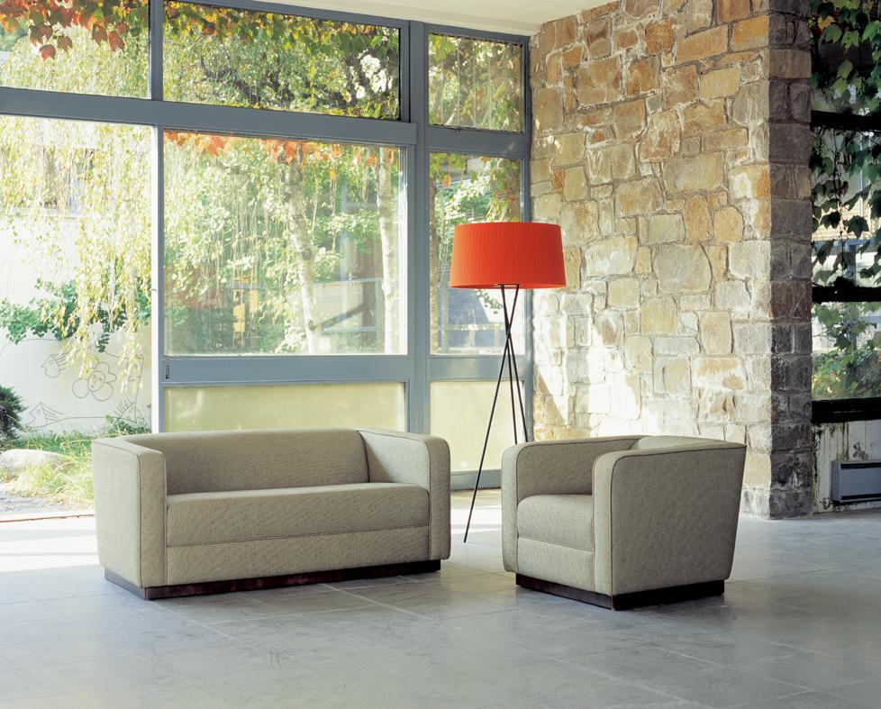 Coliseum sofa 2 Plazas fabric category Cliente
