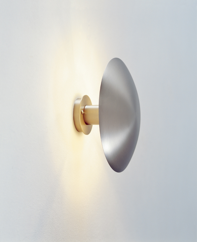 Disc Wall Lamp Small Niquel