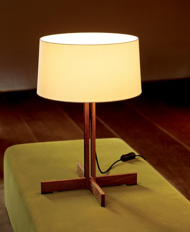 Fad Lâmpada de mesa Estructura