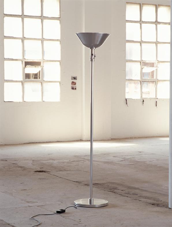 Gatcpac lámpara of Floor Lamp Aluminium pulido