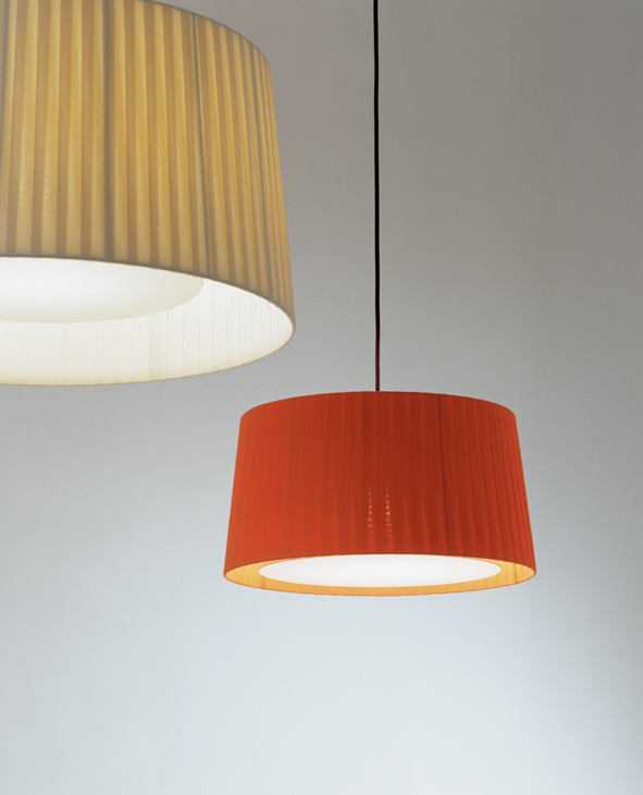 GT6 (Accessory) lampshade for Pendant Lamp 45cm - Cinta net ámbar