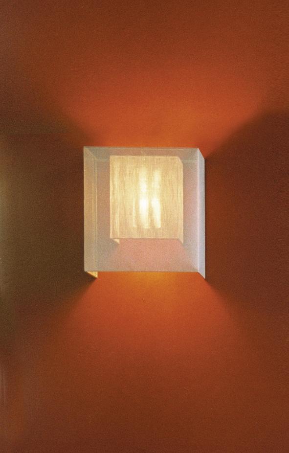 Moaré Wall Lamp Estructura