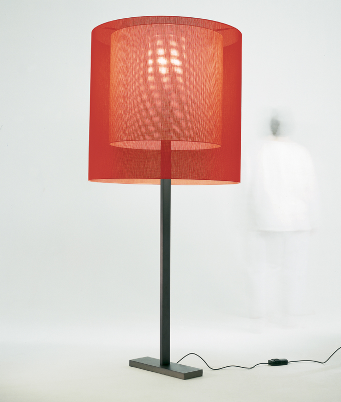 Moaré lámpara of Floor Lamp Estructura