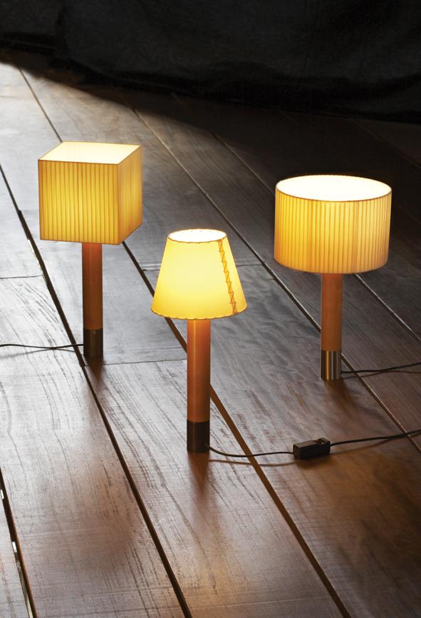 P 2 lampshade Lino white