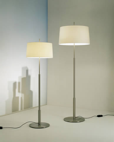 lampshade lino natural for Floor Lamp Large Diana