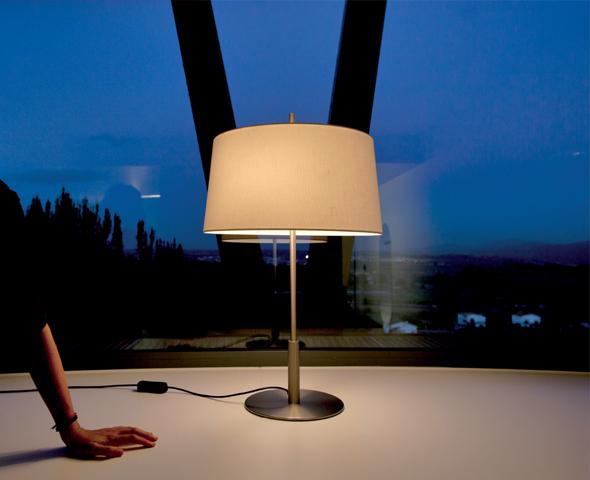 Paralume lino natural per Lampada da tavolo/pie Diana