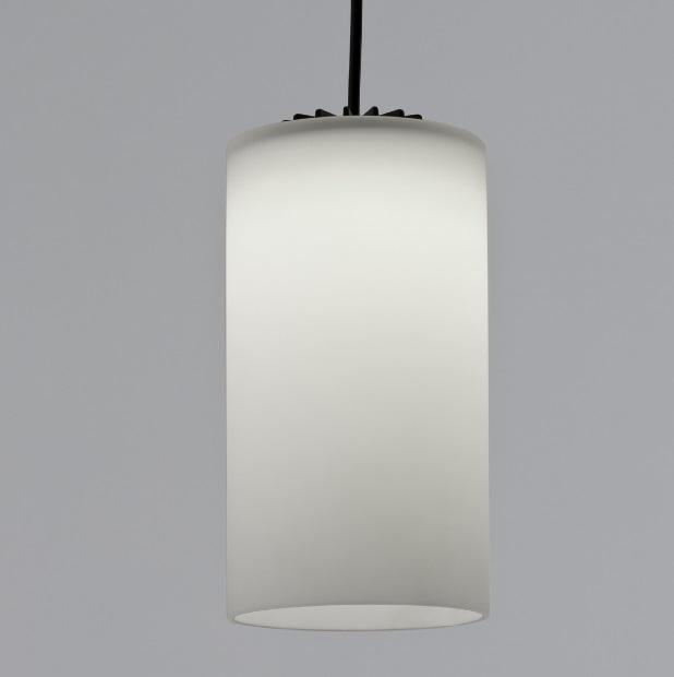 Cirio (accesorio) pantalla 11x21cm - Vidrio blanco opal mate