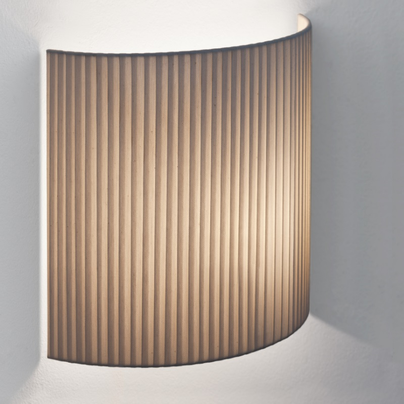 Comodin Square (Accessory) lampshade for Wall Lamp - Cartulina beige cosida