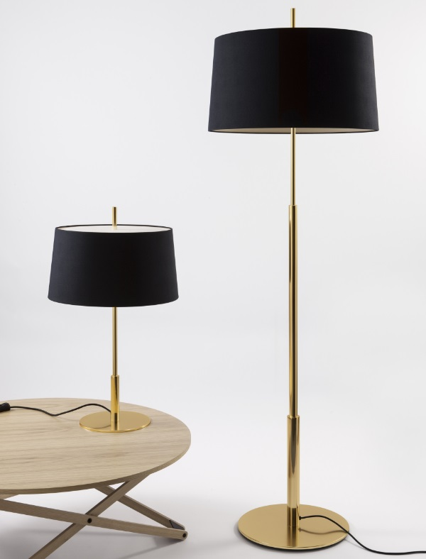 Diana Menor (Solo Structure) Table Lamp 25x66cm E27 40w - Latón