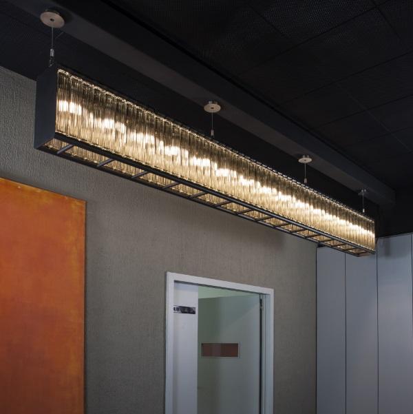 Línea Estadio Composición Lámpara Colgante módulo alimentación 1200W