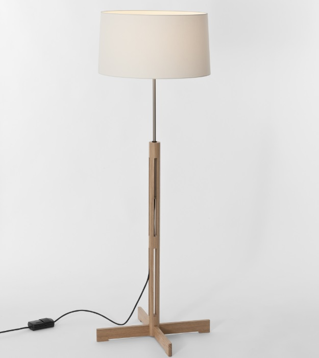 Fad (Acesorio) lampshade for Floor Lamp - Lino white