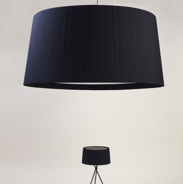 GT1500 (Accessory) lampshade for Pendant Lamp 150cm - Cinta black