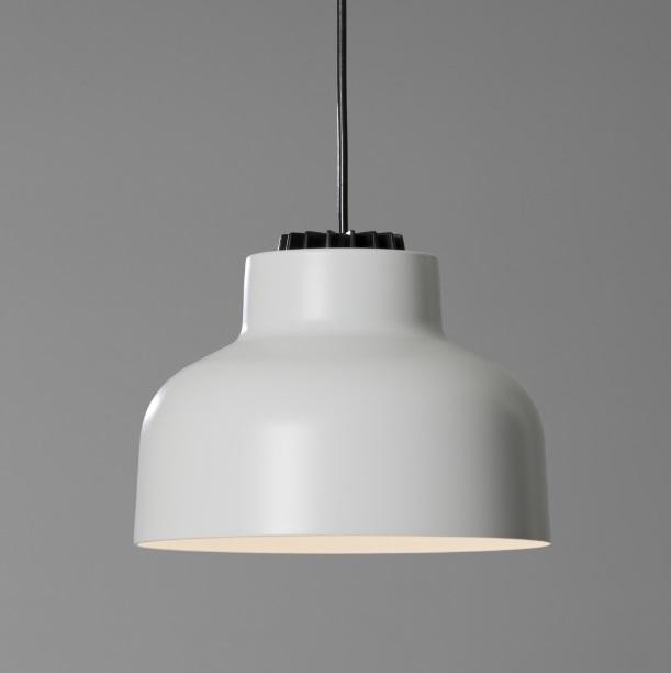 M64 (accesorio) pantalla para lámpara Colgante - Aluminio blanco mate