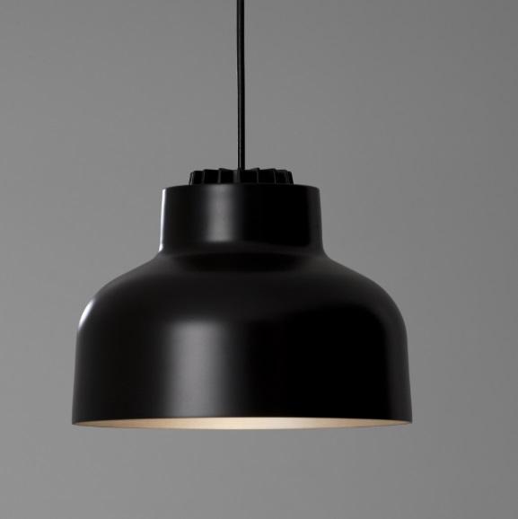 M64 (accesorio) pantalla para lámpara Colgante - Aluminio negro mate