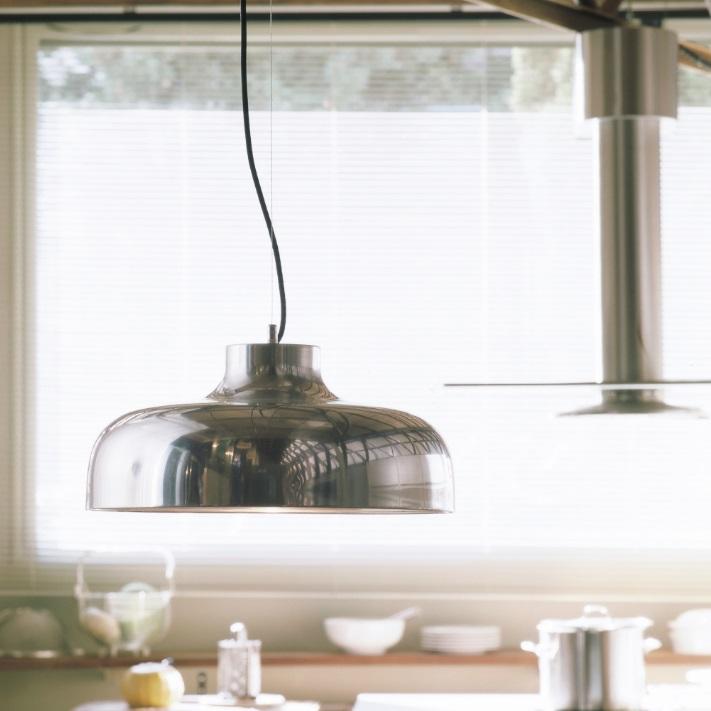 M68 Lamp Pendant Lamp LED 17W - Aluminium pulido