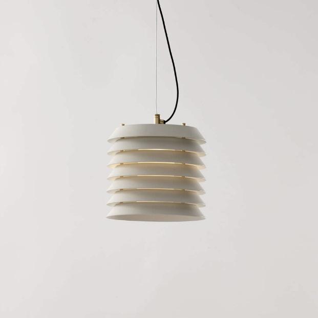Maija 15 Lámpara Colgante LED 6W - pantalla metálica blanca