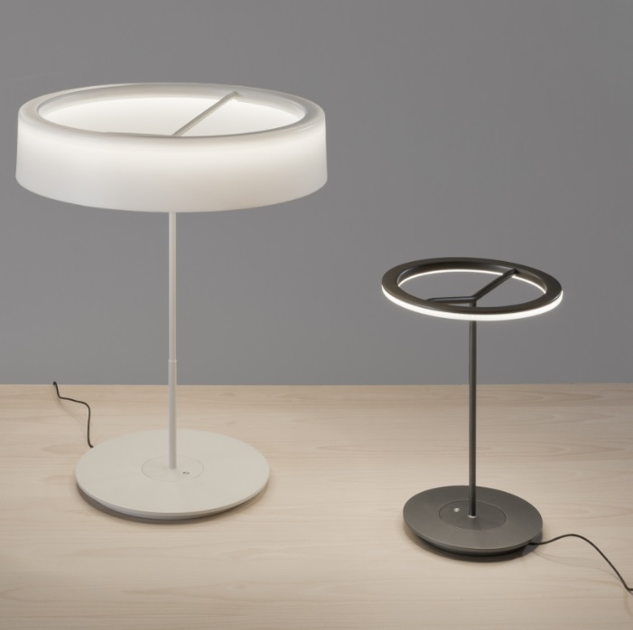 Sin S Lampe de table LED 12,5W - blanc Santa Cole