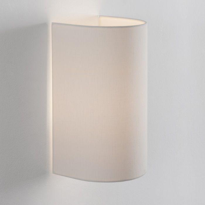 Singular (Accessory) lampshade for Wall Lamp - Lino white