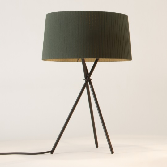Tripode G6 (Accessory) lampshade for Table Lamp 62cm - Cinta Green raw colour