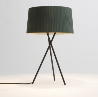 Tripode M3 (Accessory) lampshade 31cm - Green raw colour