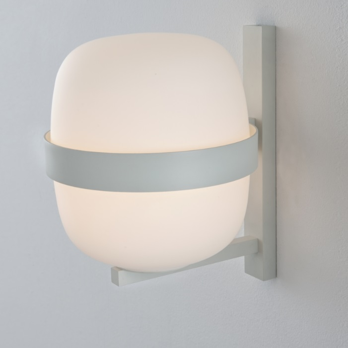 Wally Wall Lamp E27 25W 22x24cm - white mate