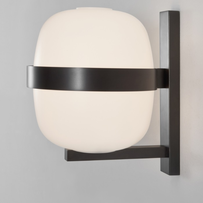 Wally Wall Lamp E27 25W 22x24cm - Bronze oscuro