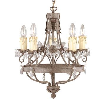 Mini chandeliers Pendant Lamp indoor Velas 5xE14 60W