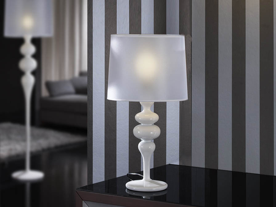 Lena Table Lamp Large 1L white