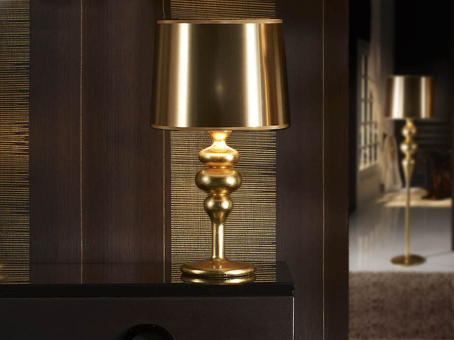 Lena Table Lamp Large 1L Gold