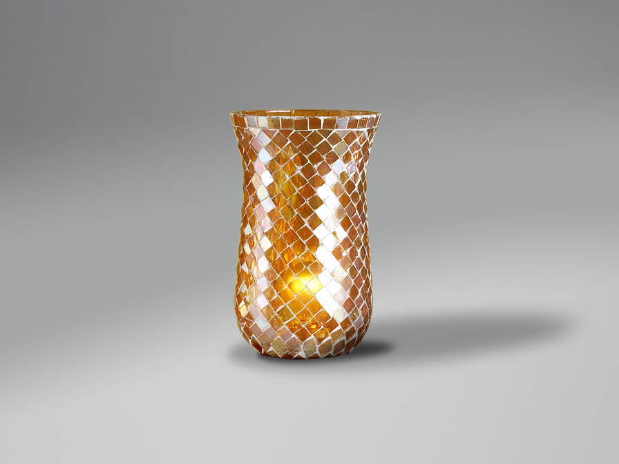Accessory lampshade mosaic Copper Delgada