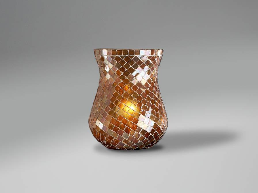paralume mosaico Rame