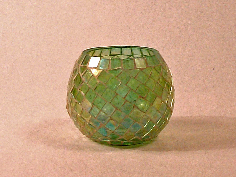 Accessory lampshade mosaic Green